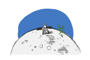 China grows plants on the moon!